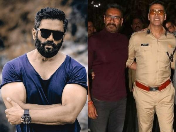 Suniel Shetty: Today when I see Akshay Kumar and Ajay Devgn, I feel so proud. I wish I was like them