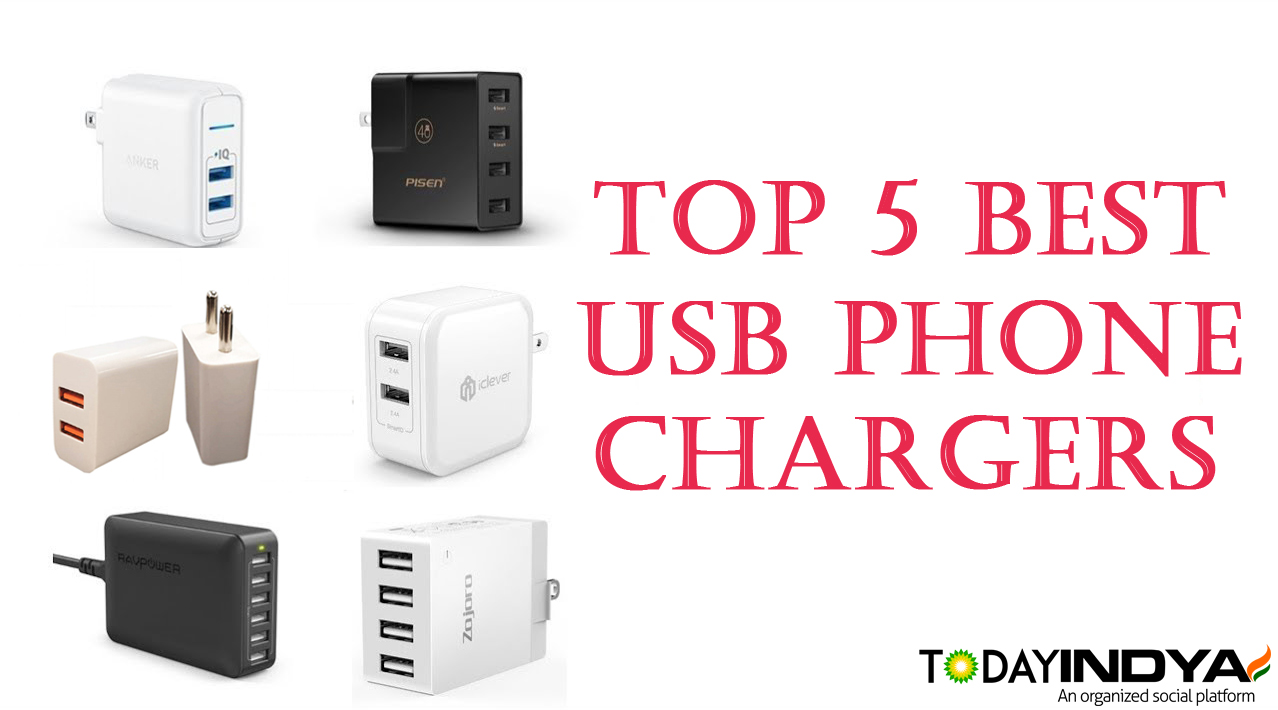 Top 5 Best USB Phone Charger