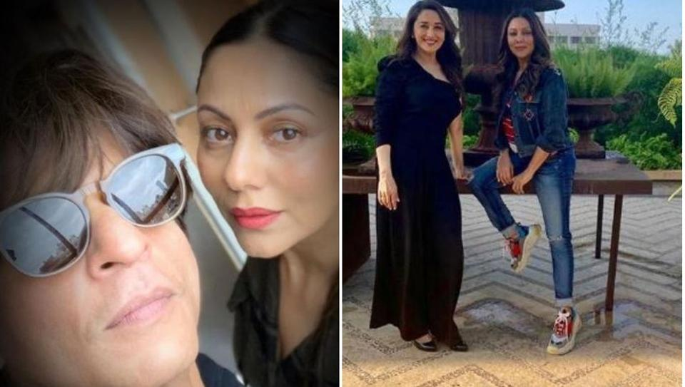 Shah Rukh Khan wants some 'gems of wisdom' from wife Gauri at home, complains he has to read them online