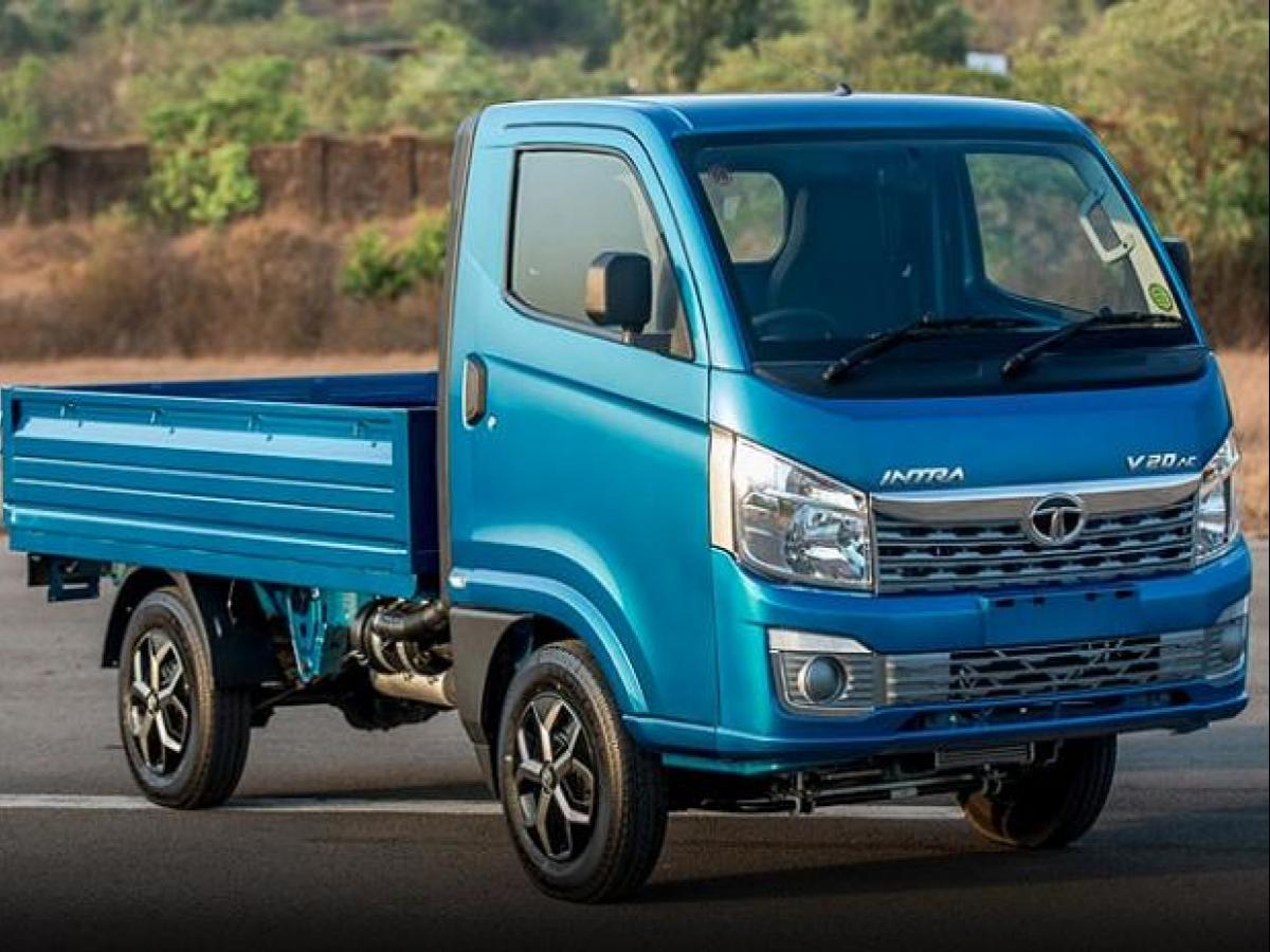 With the launch of Intra, Tata Motors creates a compact truck segment