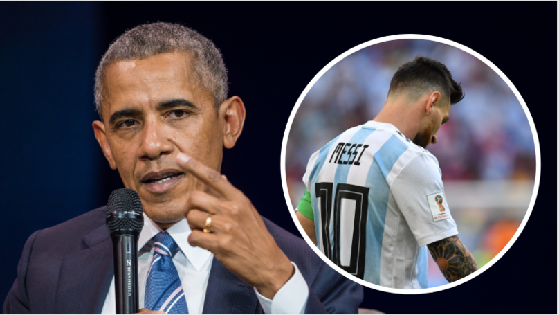 Barack Obama offers advice to Lionel Messi
