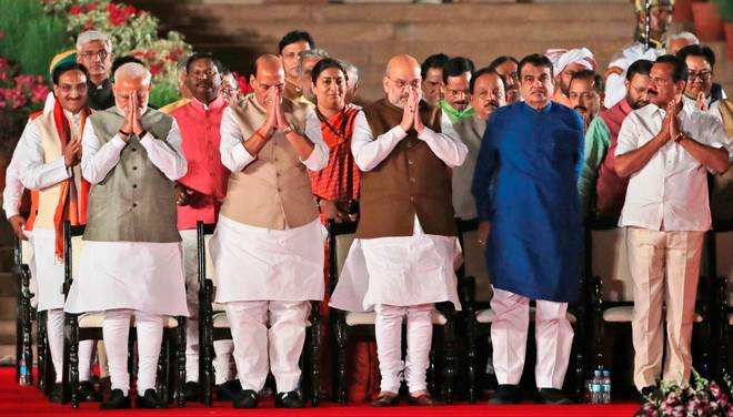 Complete list of ministers & portfolios in Narendra Modi government