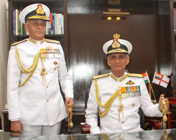 In first address, Navy Chief launches all-out attack on VIP culture