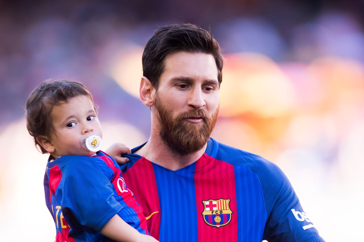 "WATCH: Lionel Messi says his son trolls him by saying ""I'm Liverpool!"""