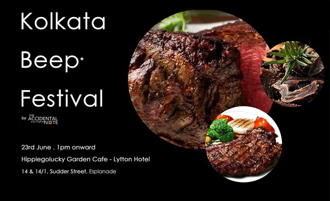 """After Row, """"Beep"""" Replaces """"Beef"""" In Kolkata Food Festival"""