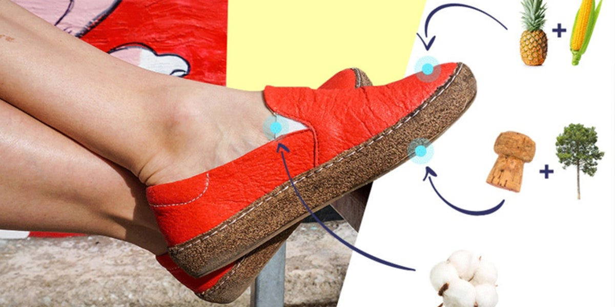 Vegan Shoes Made From Pineapple, Corn, And Cork Now Available On Kickstarter