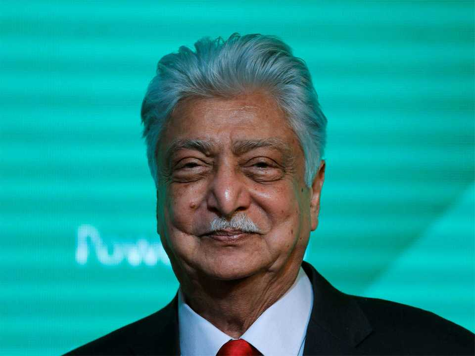 That's IT, over to you folks: Azim Premji on his retirement