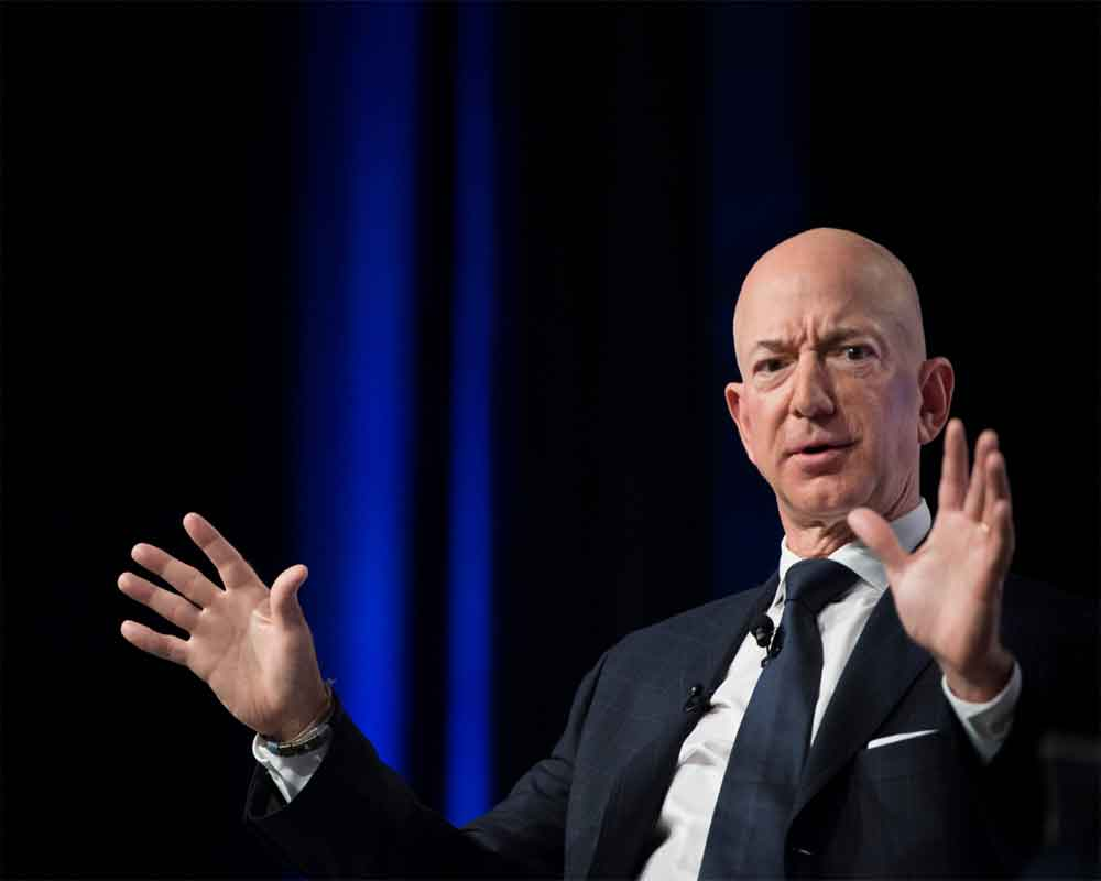 'Come, gamble with me on big ideas', says Amazon founder Jeff Bezos