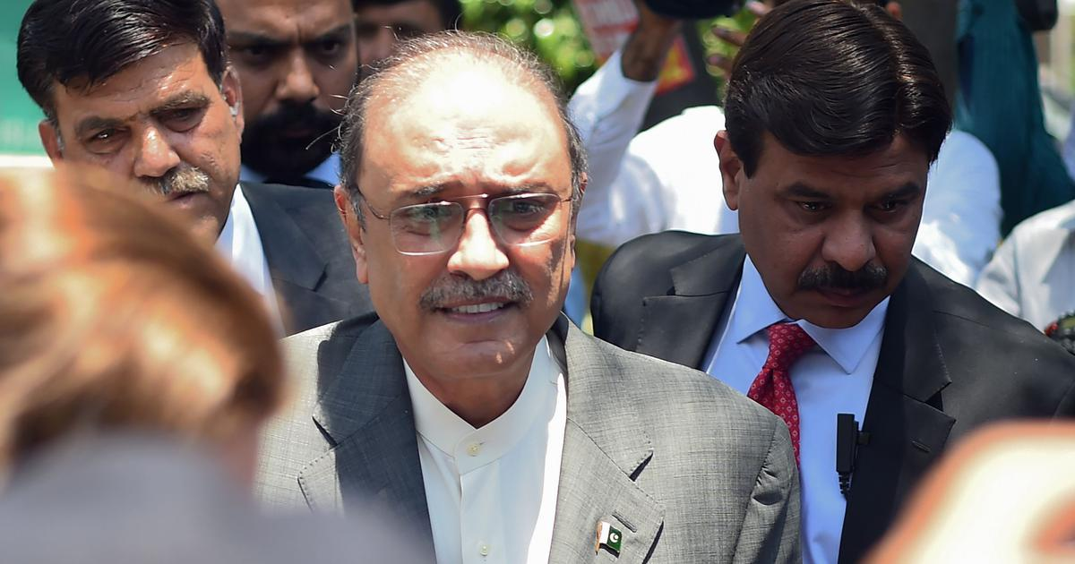 Former Pakistan President Asif Ali Zardari arrested in fake bank accounts case