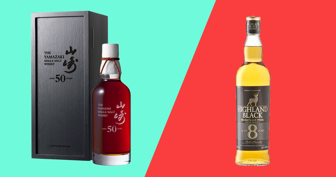 THE DIFFERENCE BETWEEN CHEAP & EXPENSIVE WHISKY, EXPLAINED BY A WHISKY EXPERT