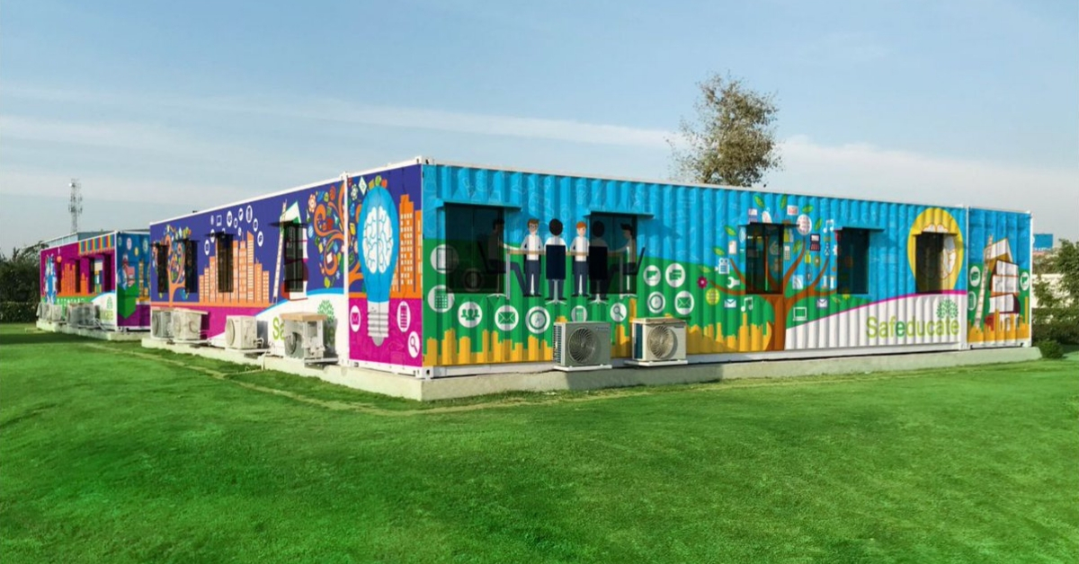 Meet the Amazing Woman Turning Truck Containers Into Portable Solar Schools!