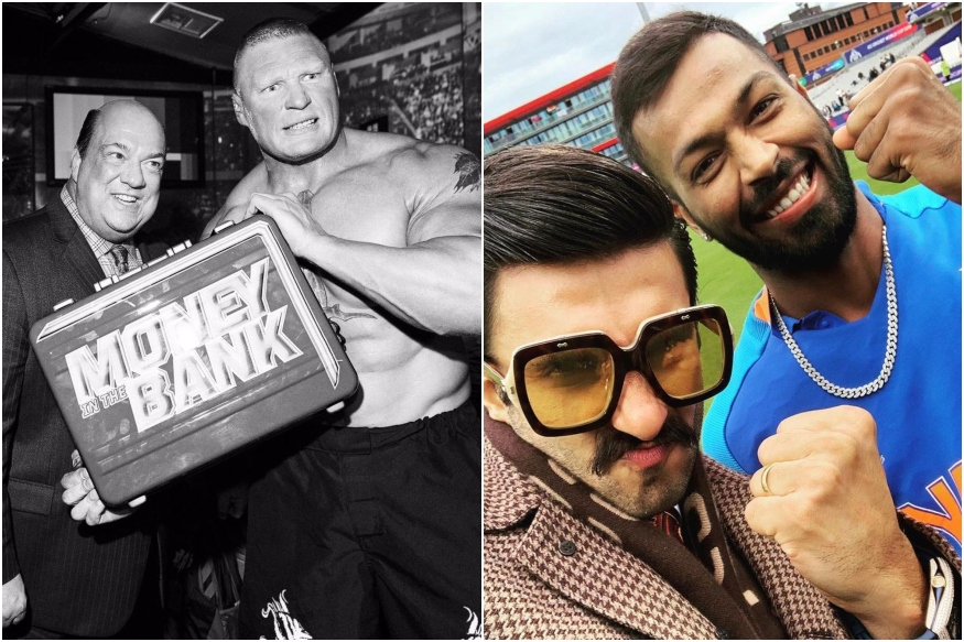 Ranveer Singh Gets Litigation Warning from WWE Wrestler Brock Lesnar