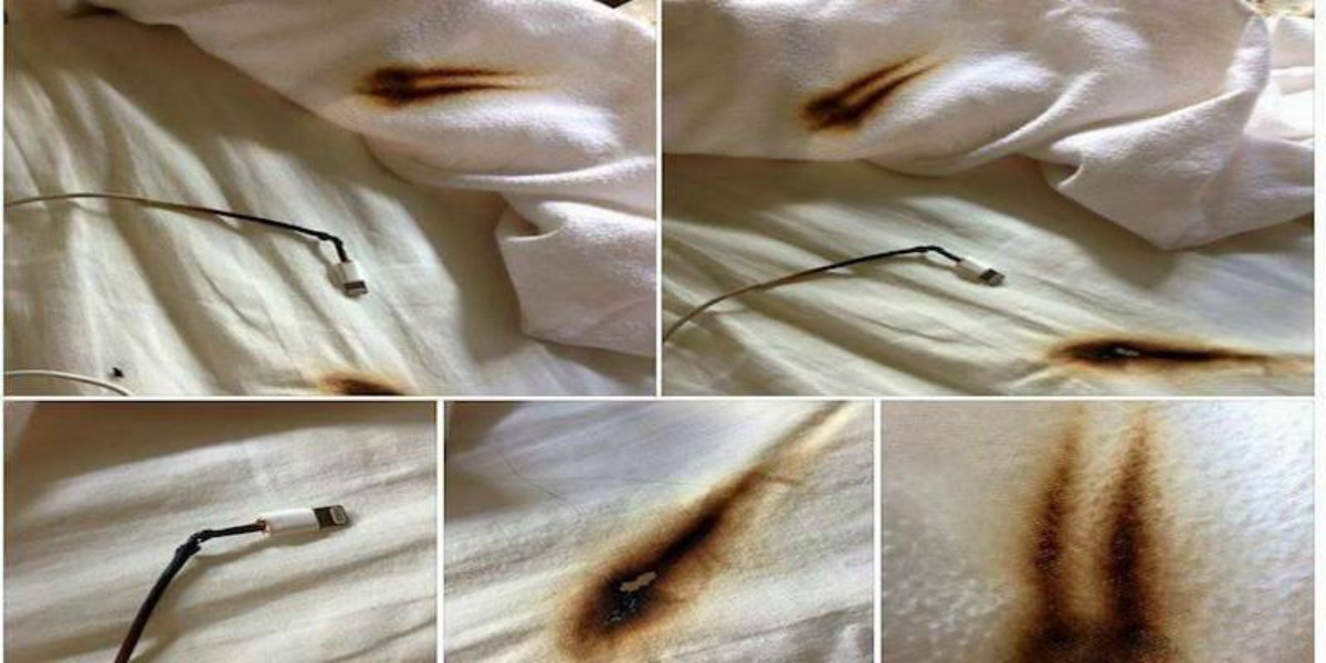 Here Is Why You Shouldn't Charge Your Phone in Your Bed!