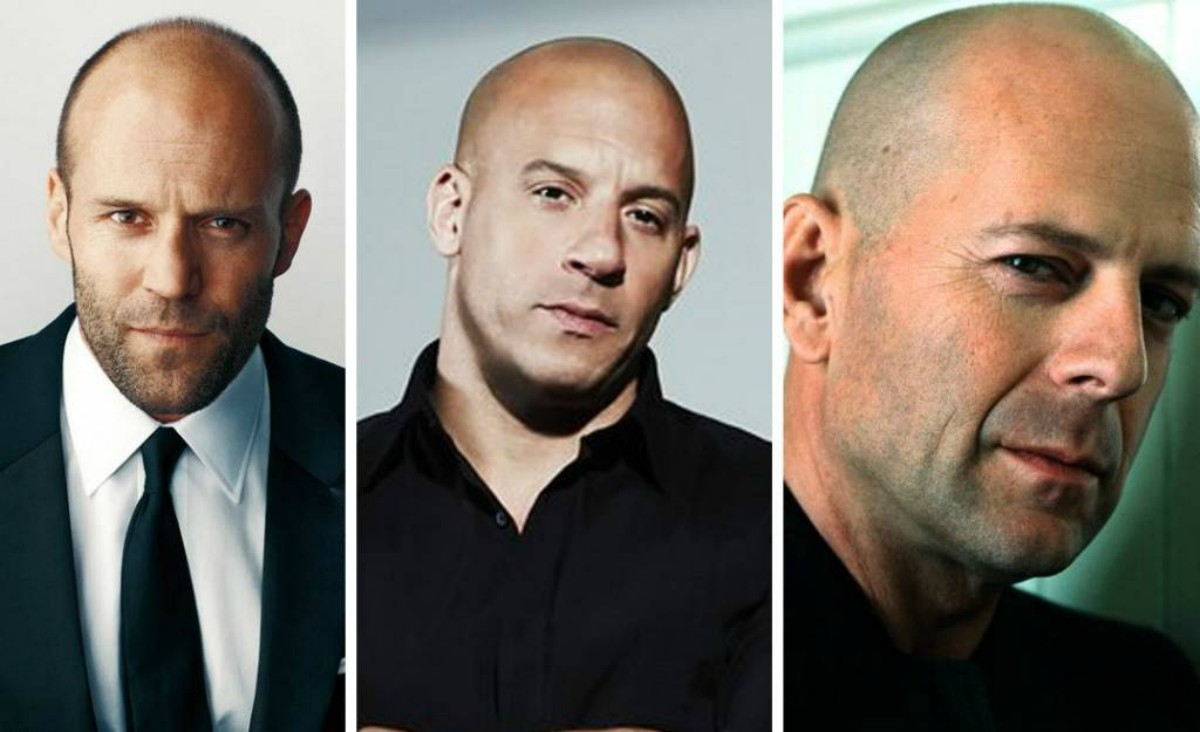 Science Says That Bald Men Are Stronger and More Confident!