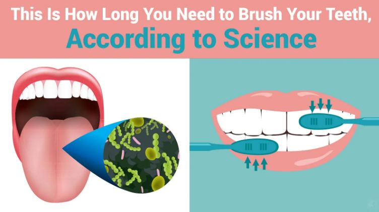 This Is How Long You Need to Brush Your Teeth, According to Science