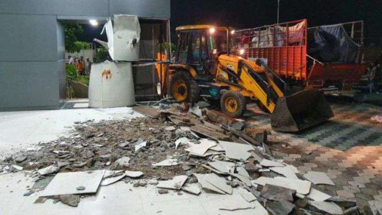 """Illegal"" Rs. 8-Crore Hall Built By Chandrababu Naidu Demolished Overnight"