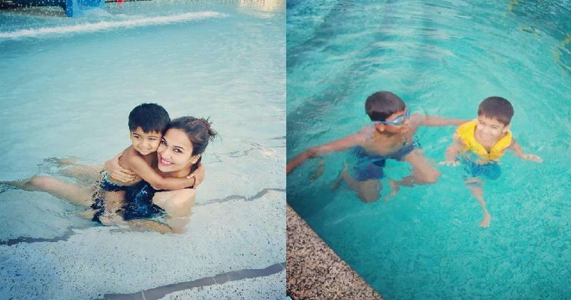 Soundarya Rajinikanth Deletes Pool Pic With Son After Internet Reminds Her Of Chennai