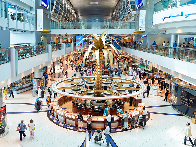 No need to convert the rupee in Dubai, it is now accepted as currency for shopping in city