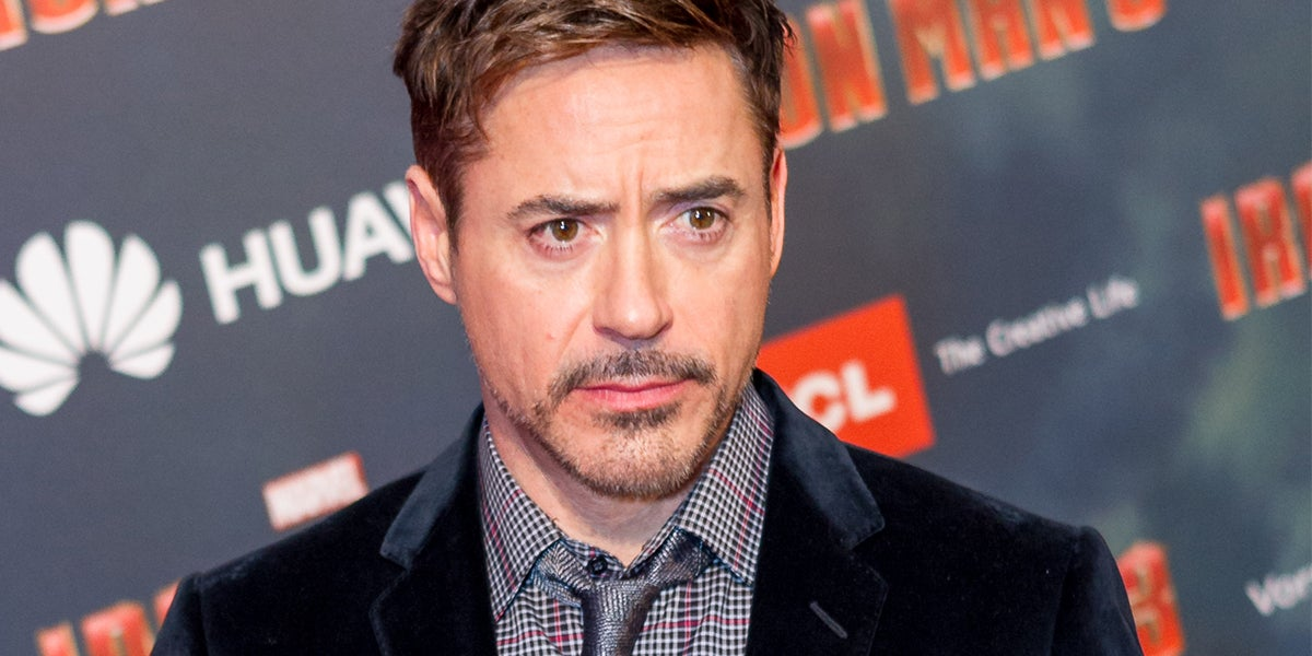 Robert Downey Jr Plans To Save The Planet With Robots & Artificial Intelligence