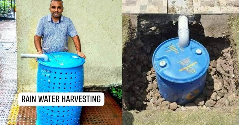 This Man Wants To Install Easy Rain Water Harvesting System Free Of Cost In Mumbai, Let