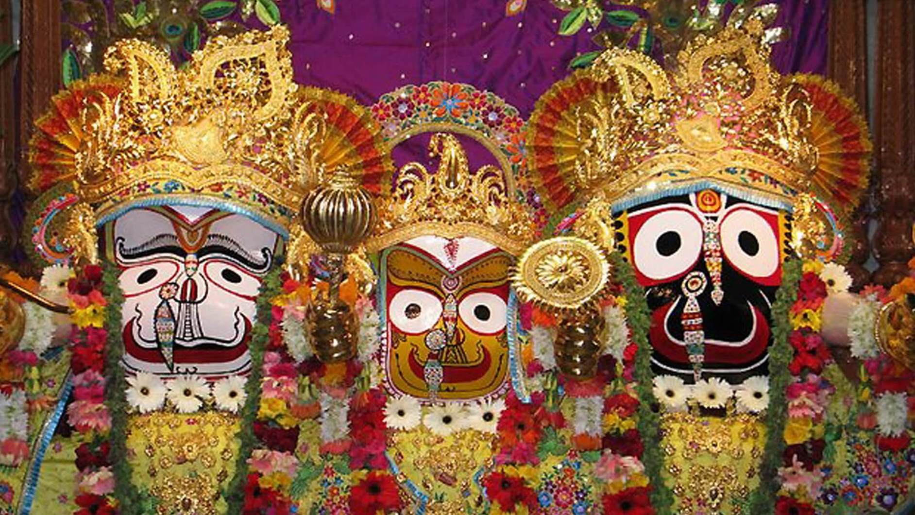 The unfinished Jagannath idol at Puri