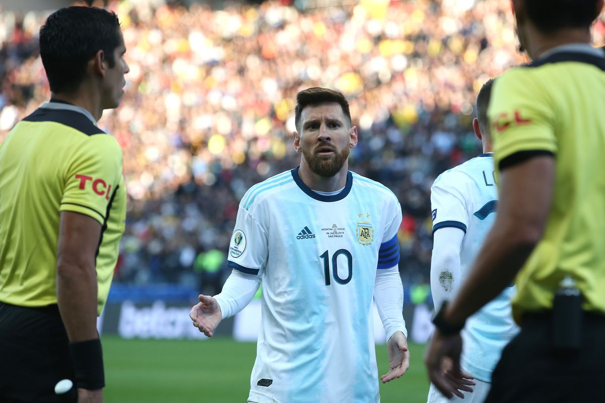 Lionel Messi slams 'corruption' at Copa America and refuses to pick up bronze medal
