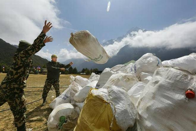 Nepal is turning Everest trash into treasure