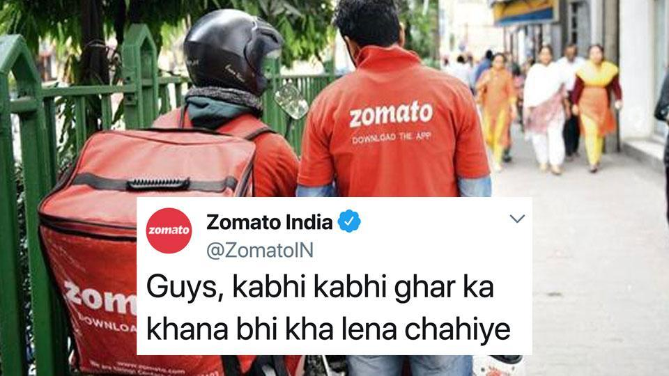 Zomato prompts trend with tweet, then shows who's boss with a new one
