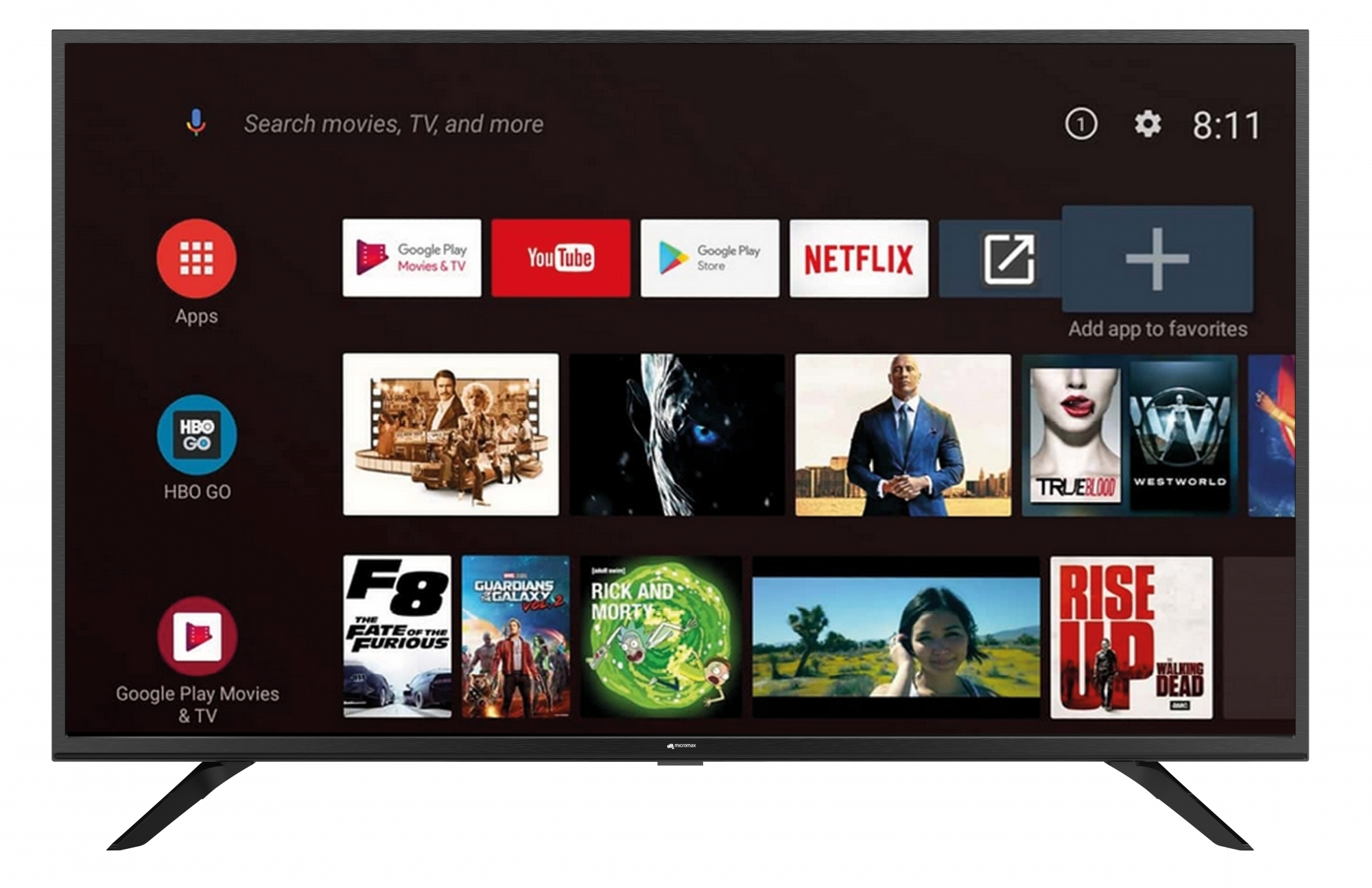Micromax Android TV Lineup Launched in India, Starting Rs. 13,999