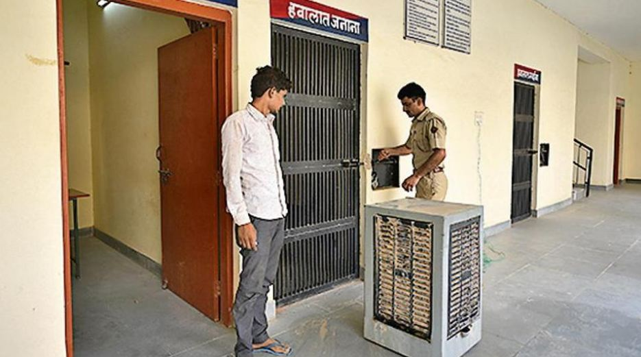 Air-cooled barracks, attached toilets, lunch for visitors: Inside India's best police station