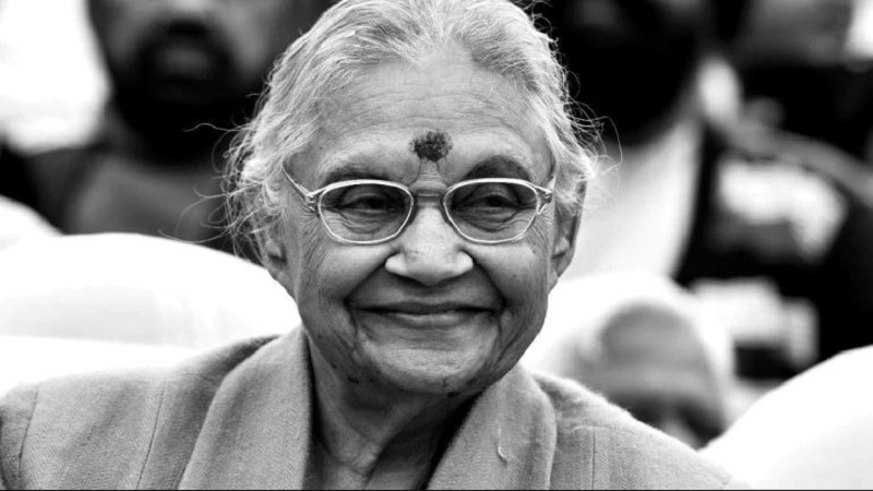 Sheila Dikshit, builder of new Delhi and longest-serving woman CM, dies