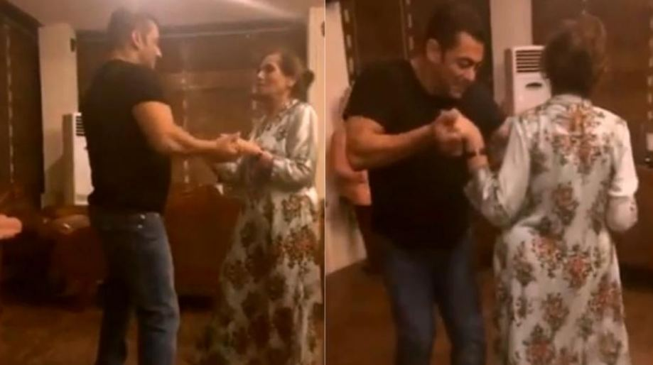 Salman Khan, mother Salma dance to Sia's Cheap Thrills, internet says 'they are perfect'. Watch video