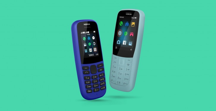 Nokia 220 4G and Nokia 105 affordable feature phones unveiled