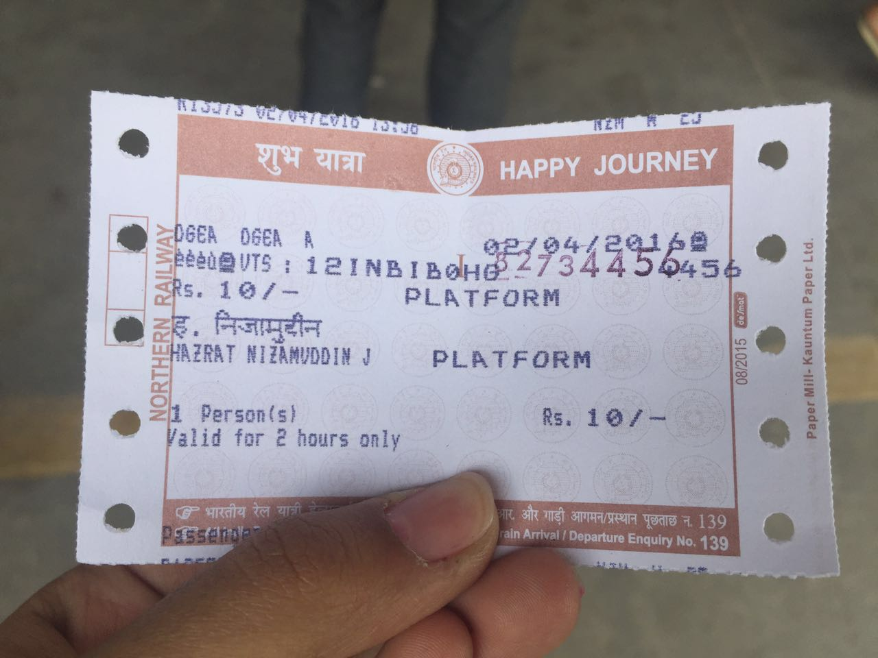 Indian Railways allows you to board a train with a platform ticket provided you have a guard's certificate: Here