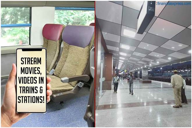 Indian Railways passengers will love this! Soon, stream free high-quality movies, videos on trains, stations