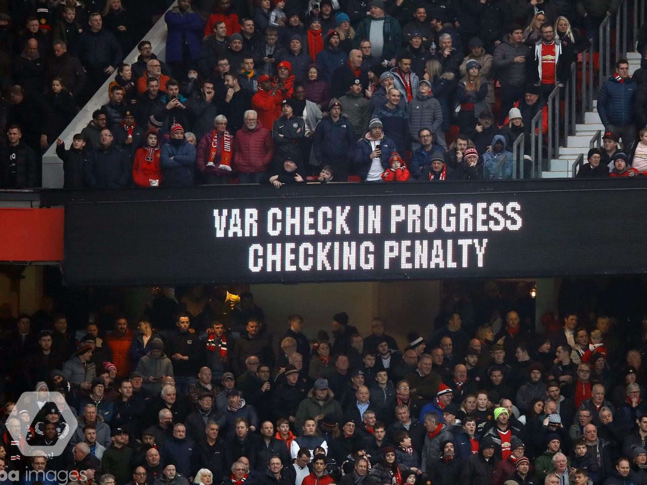 UNITED CONFIRM VAR PLANS FOR OLD TRAFFORD