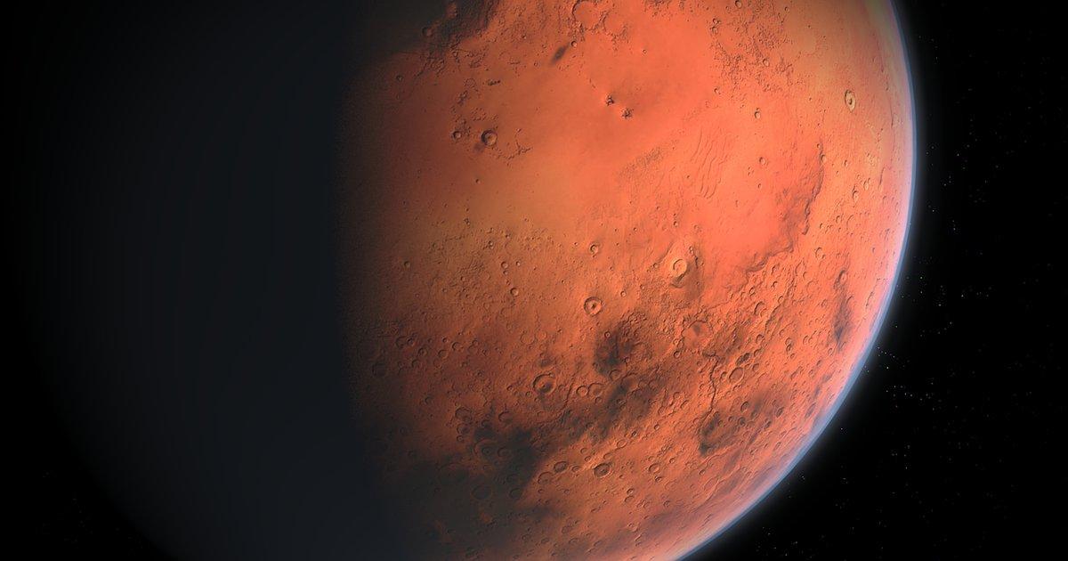 Scientists found evidence of a 'mega-tsunami' on Mars