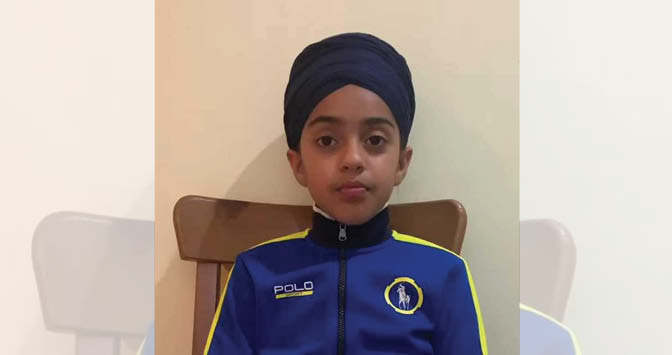 10-Year-Old Sikh Girl