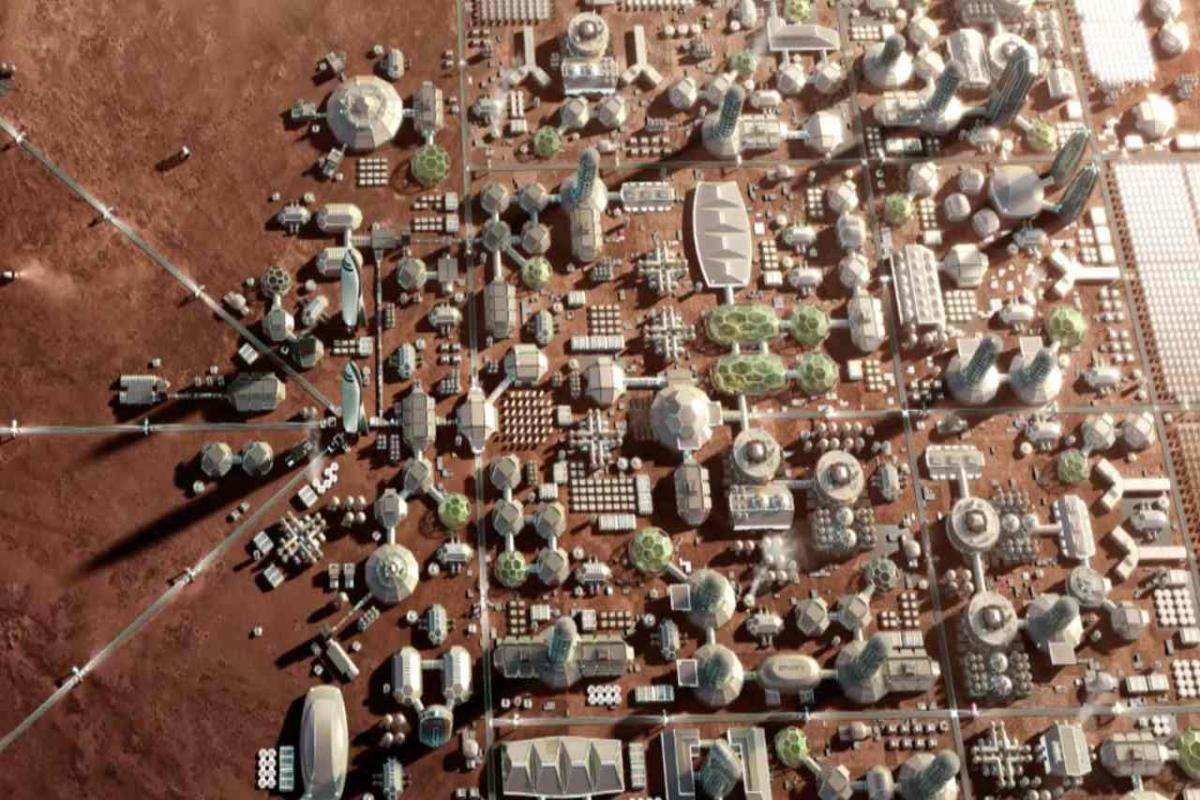 BUILDING A CITY ON MARS COULD COST AN EIGHTH OF THE GLOBAL ECONOMY: SPACEX CEO ELON MUSK