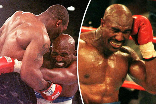Mike Tyson reveals what he did to Evander Holyfield's ear after THAT bite