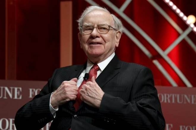 Billionaire investor Warren Buffett's mantra on how to lead a happy life