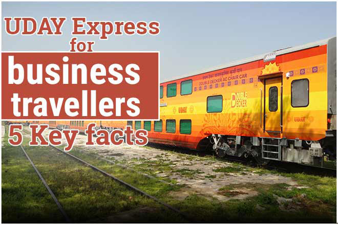 Indian Railways' 2nd double-decker UDAY Express for business travellers to run on this route; 5 key facts