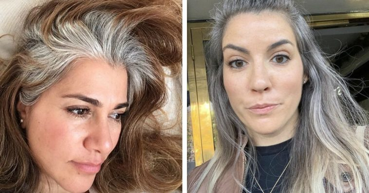 Grey is the new hot when it comes to women hair color and a lot of women are deciding to stop dying hair at all.