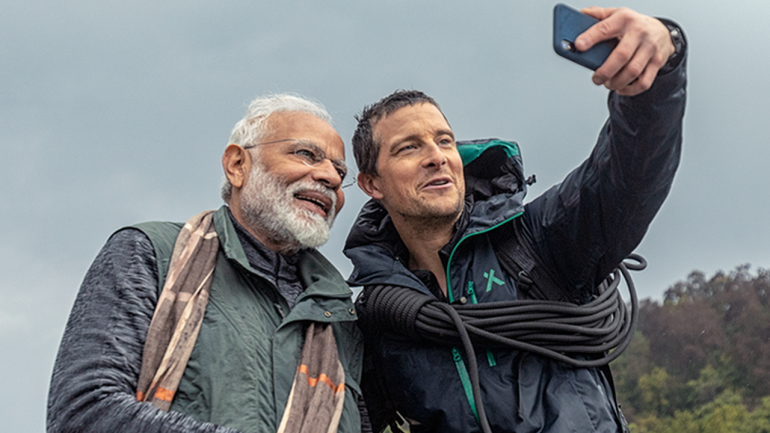 Technology helped Bear Grylls understand Hindi in