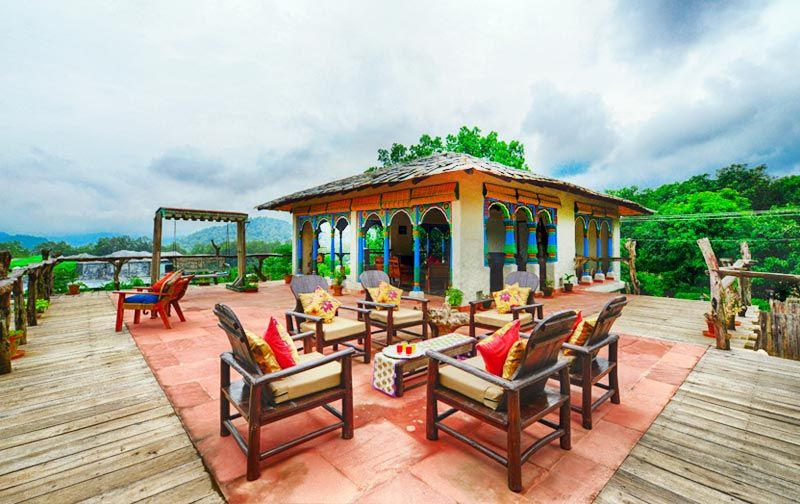 Paatlidun Safari Lodge in Jim Corbett Has Canopy Beds And A Pool In Every Room
