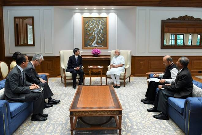 ADB President Nakao calls on PM Modi, pledges USD 12 billion support to govt's initiatives