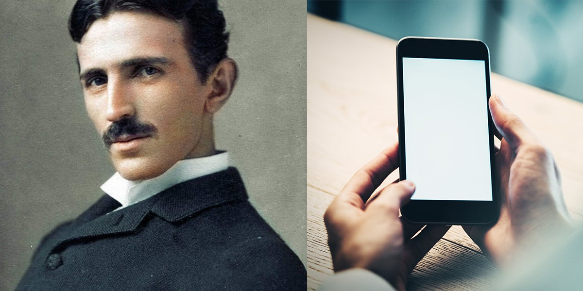 In 1926 Nikola Tesla Predicted And Described The Smartphone