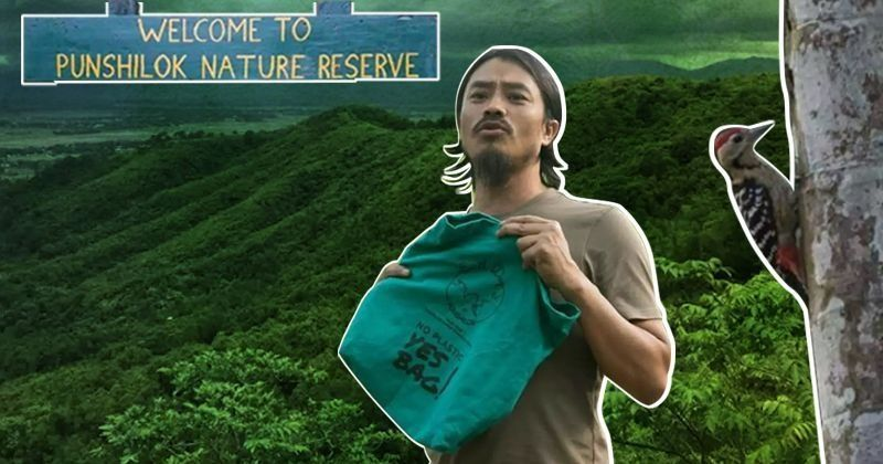 Moirangthem Loiya Has Single-Handedly Replanted A 300 Acre Forest In Manipur And Saved Over 250 Species Of Plants