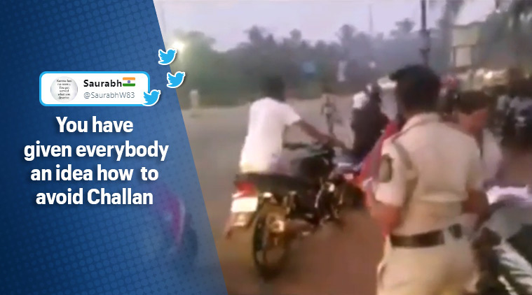'Driving without helmet is illegal but walking isn't': Hilarious 'desi jugaad' video goes viral