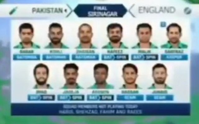 Bizarre video surfaces in Pakistan showing Virat Kohli playing for Men in Green in 2025